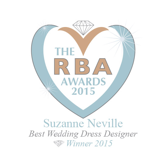 RBA Best wedding dress designer winner