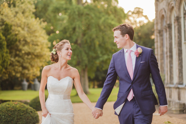 pictures of Suzanne Neville designer wedding dresses worn by real life brides Liat Gregory