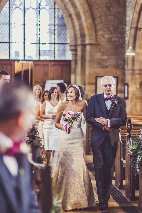 pictures of Suzanne Neville designer wedding dresses worn by real life brides Sarah