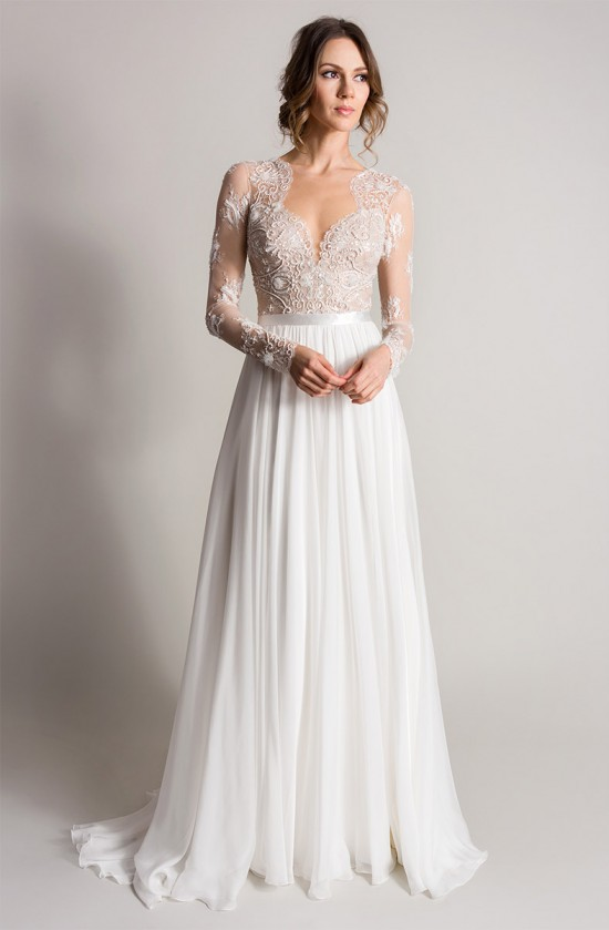 Camellia | Songbird Collection 2016 designer wedding dresses