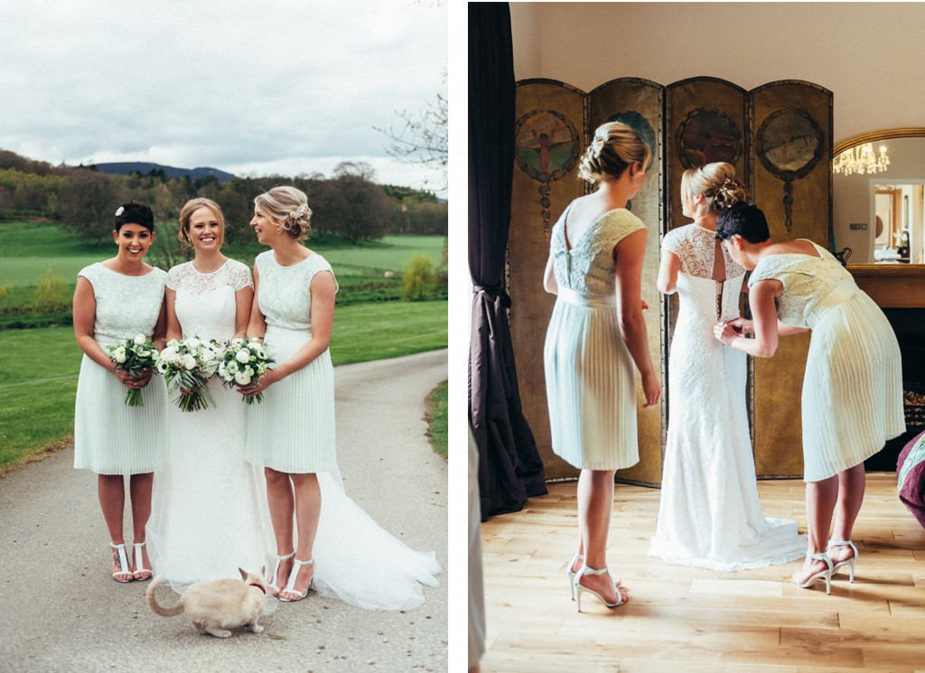 Rebecca-Charlies-wedding-Suzanne Neville London designer Bridal dresses.