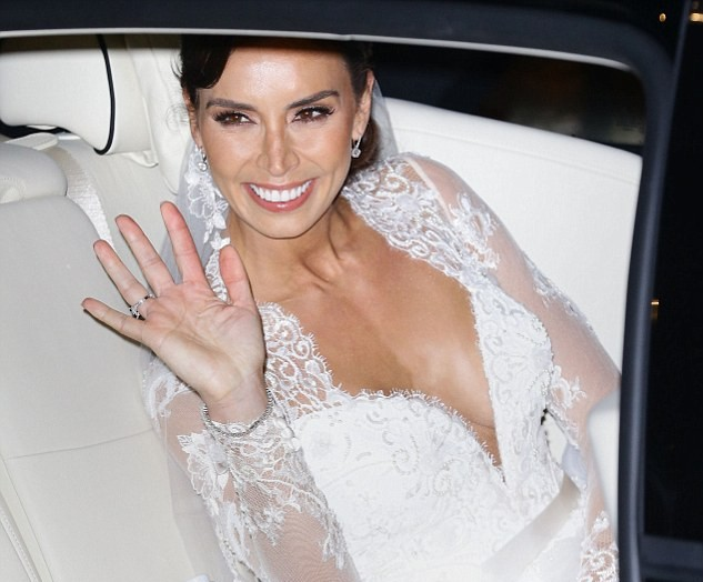 Christine Bleakley Wedding Dress Photos by Suzanne Neville