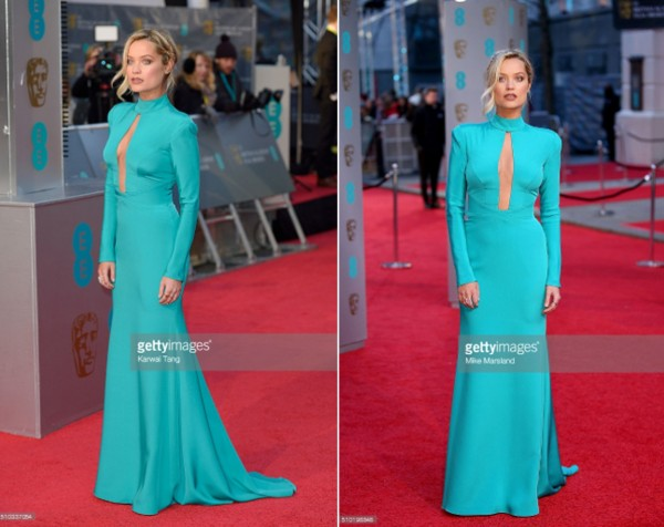 Laura Whitmore wears designer suzanne neville to the baftas 2016 10