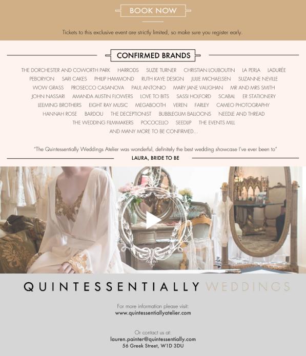 Atelier Spring 2016, wedding dresses by designer Suzanne Neville