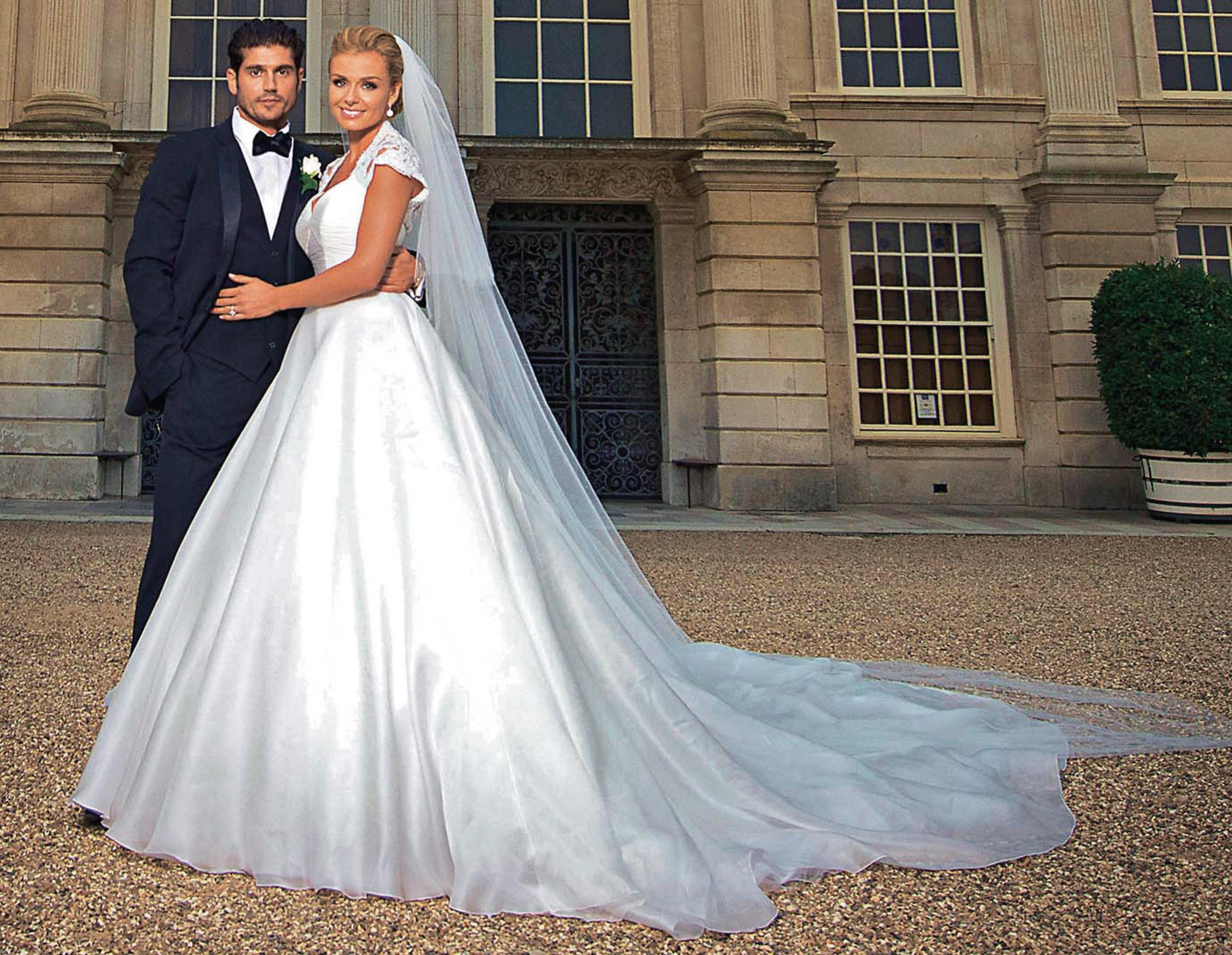 Katherine Jenkins wedding