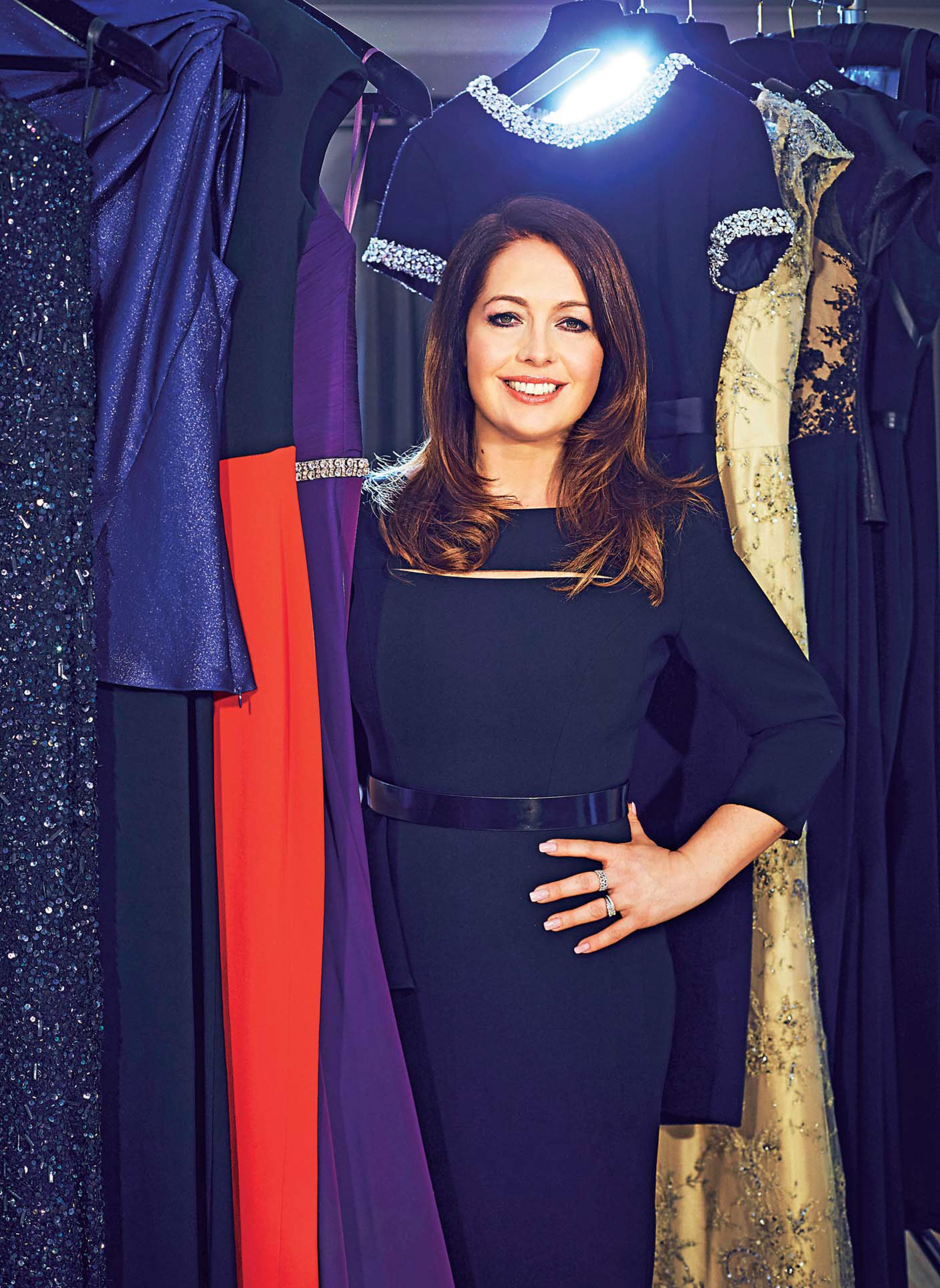 wedding dress designer Suzanne Neville