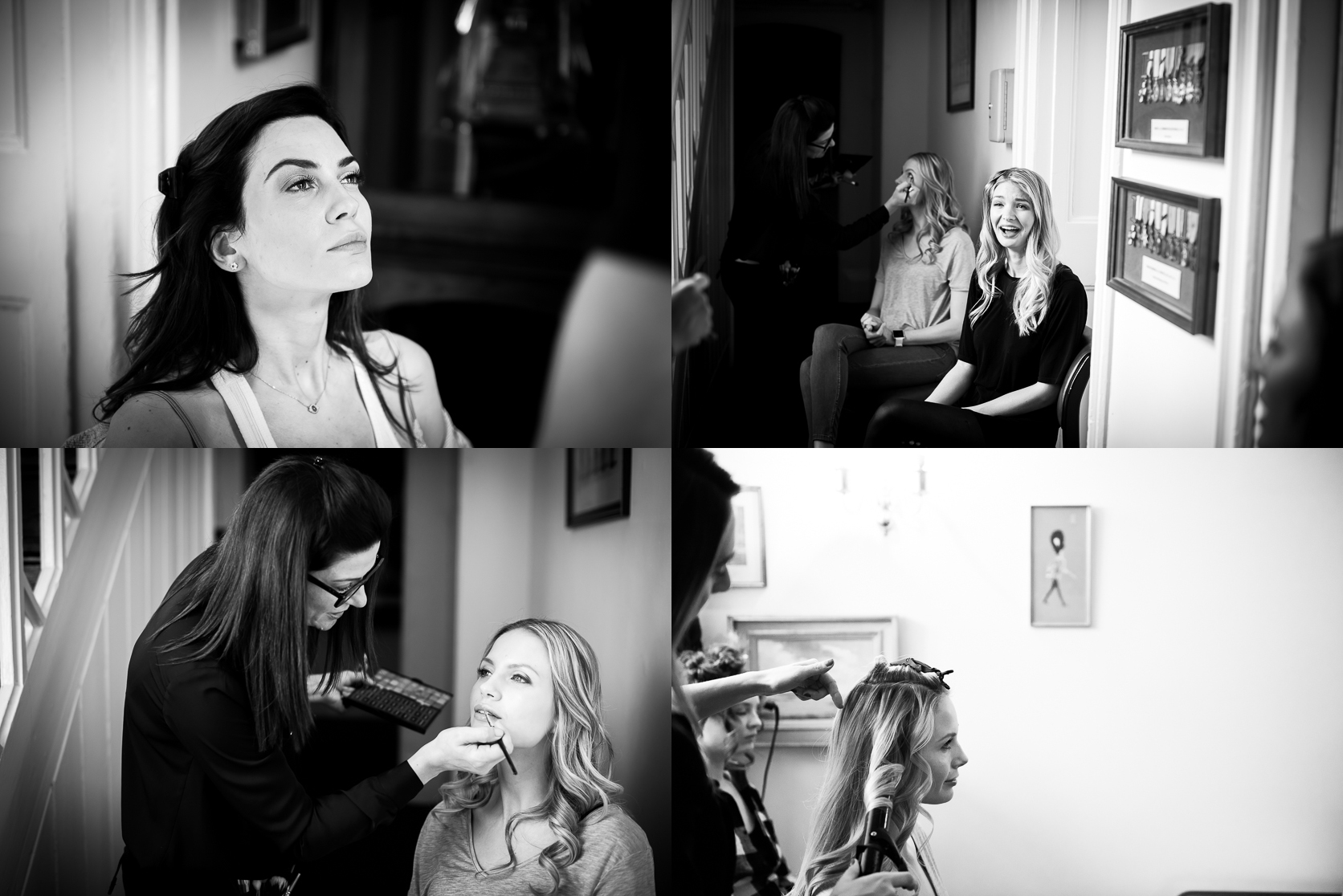 Suzanne Neville Portrait Collection behind the scenes