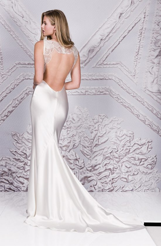 Backless Wedding Dresses By Couture Bridal Designer Suzanne Neville