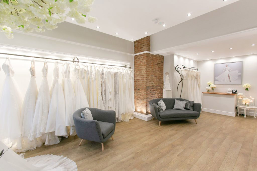 Bridal wear boutique shops for wedding dresses in Altrincham, Cheshire near Manchester in the North West | Suzanne Neville