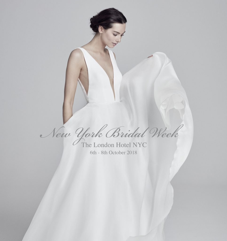 Wedding Gown Alterations Nyc: New York Bridal Week: 6th-8th October 2018