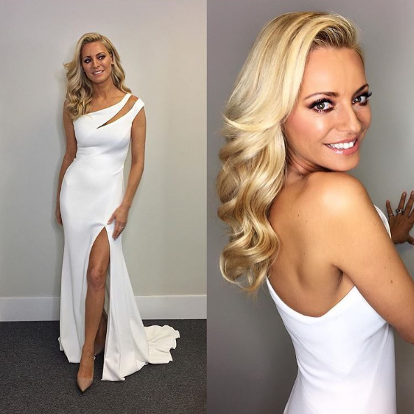 Tess Daly Steals the Show Wearing Suzanne Neville on Strictly Come Dancing