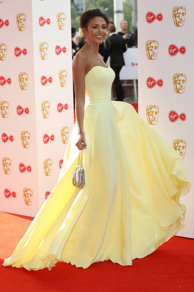 Michelle Keegan Dresses - TV BAFTA Awards 2018 - Suzanne Neville