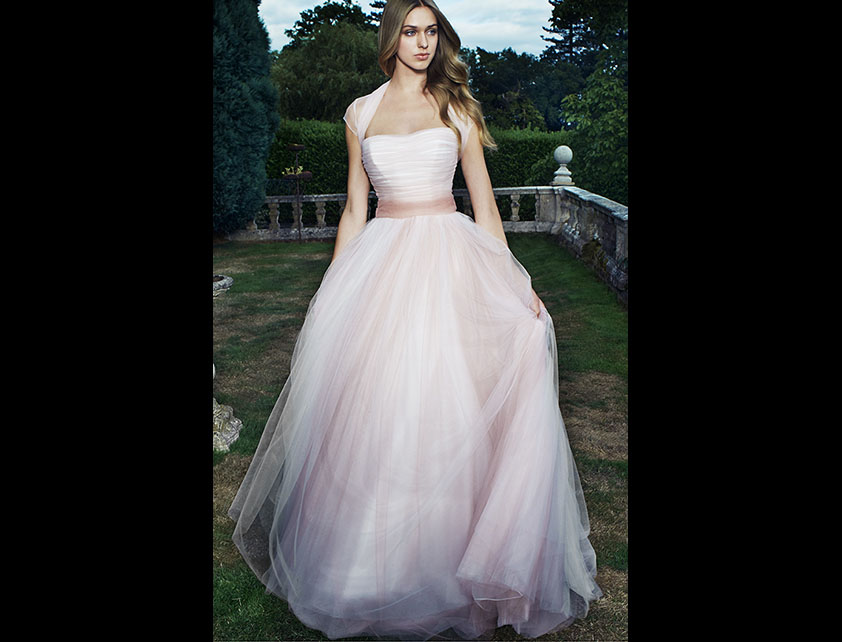 Coloured Wedding Dresses - Suzanne Neville