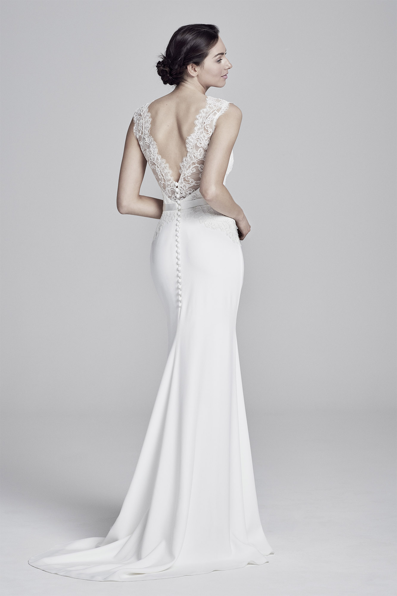 Antionetta (back) | Lookbook Collection 2019 | designer wedding dresses by Suzanne Neville