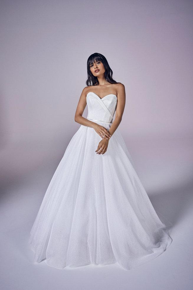 Anastasia   Modern Love Collection 2021   wedding dresses by Suzanne Neville