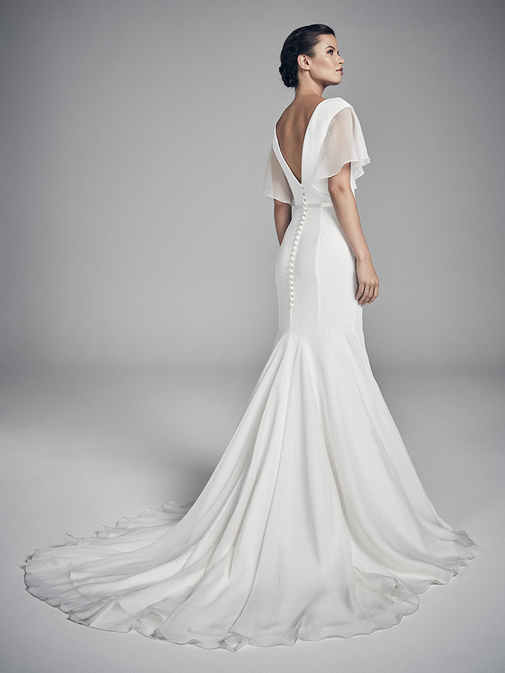 Ariel - Flores Collections 2020 | wedding dresses uk | Suzanne Neville