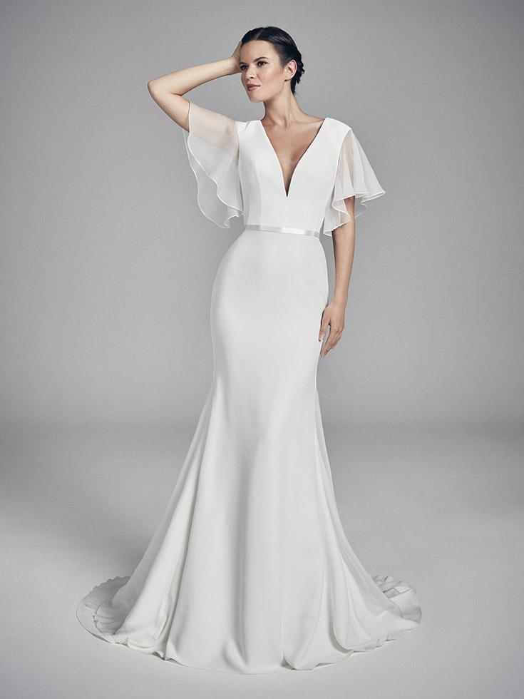 Ariel - Flores Collections 2020 | wedding dresses uk | Suzanne Neville
