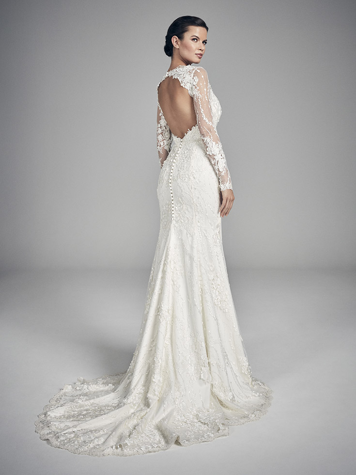 Aspen - Flores Collections 2020 | wedding dresses uk | Suzanne Neville