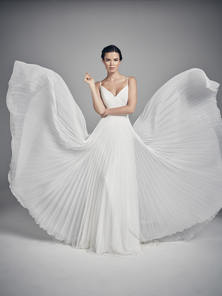 Butterfly - Flores Collections 2020 | wedding dresses uk | Suzanne Neville