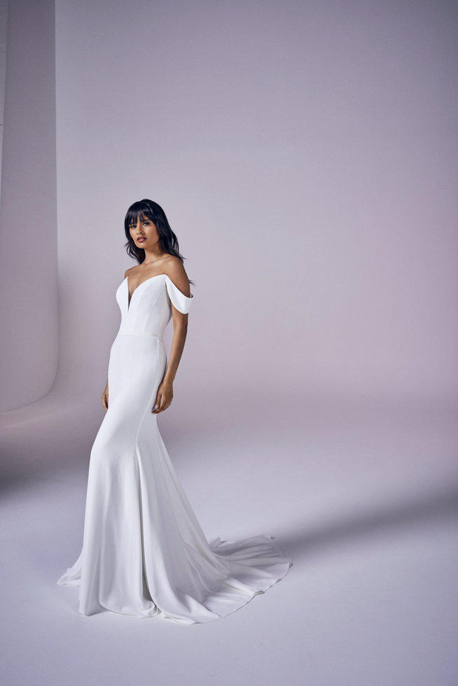 Calla | Modern Love Collection 2021 | wedding dresses by Suzanne Neville