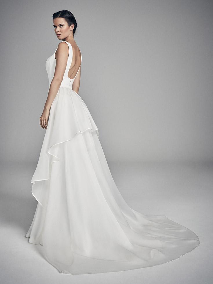 Celestia - Flores Collections 2020 | wedding dresses uk | Suzanne Neville