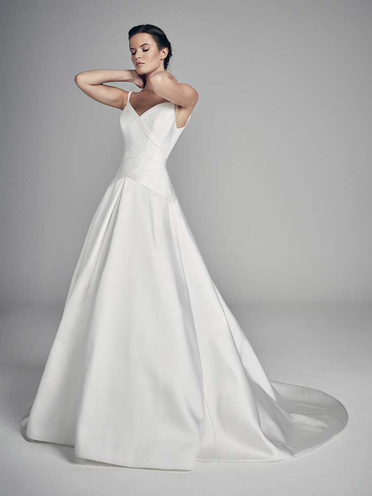 Dakota - Flores Collections 2020 | wedding dresses uk | Suzanne Neville
