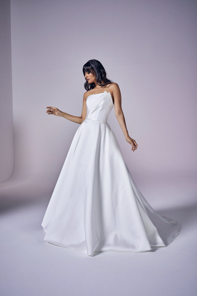 Evangeline | Modern Love Collection 2021 | wedding dresses by Suzanne Neville