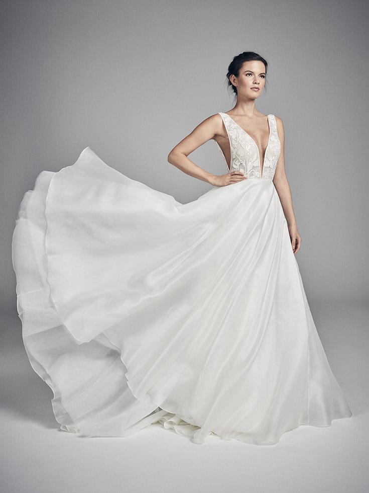 Fleur - Flores Collections 2020 | wedding dresses uk | Suzanne Neville