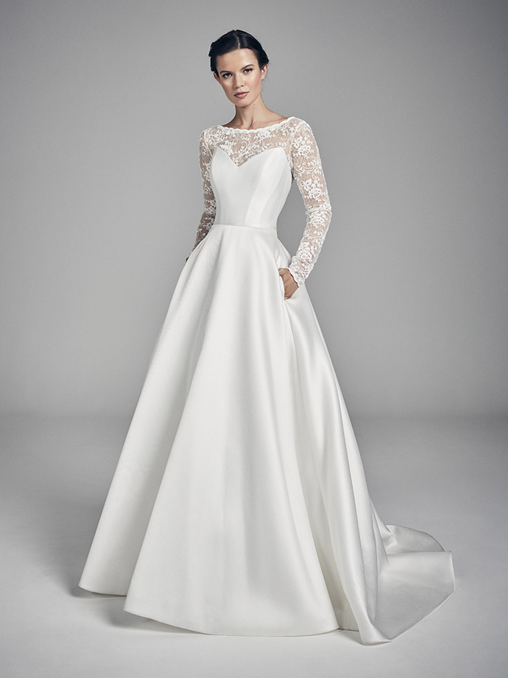 Nova - Flores Collections 2020 | wedding dresses uk | Suzanne Neville