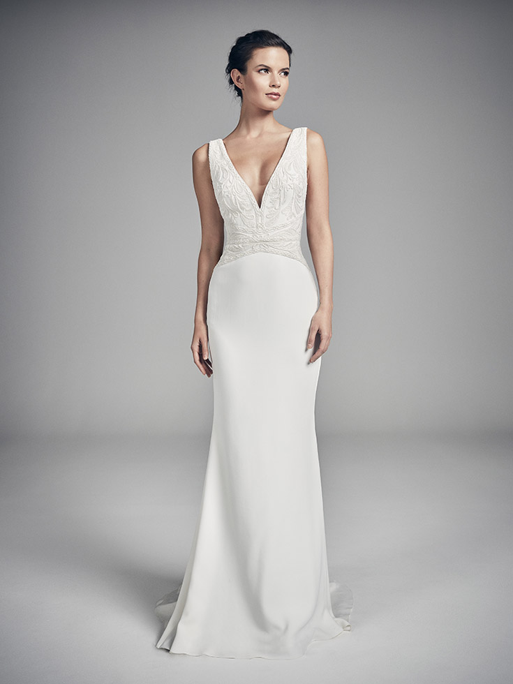 Papillion - Flores Collections 2020 | wedding dresses uk | Suzanne Neville
