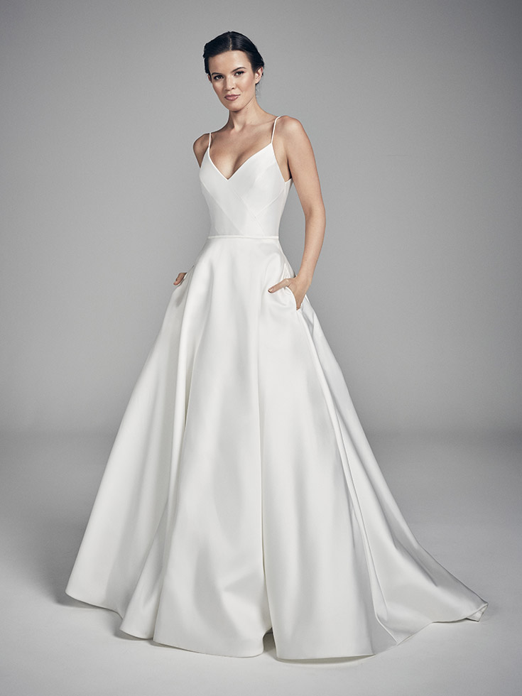 River - Flores Collections 2020   wedding dresses uk   Suzanne Neville