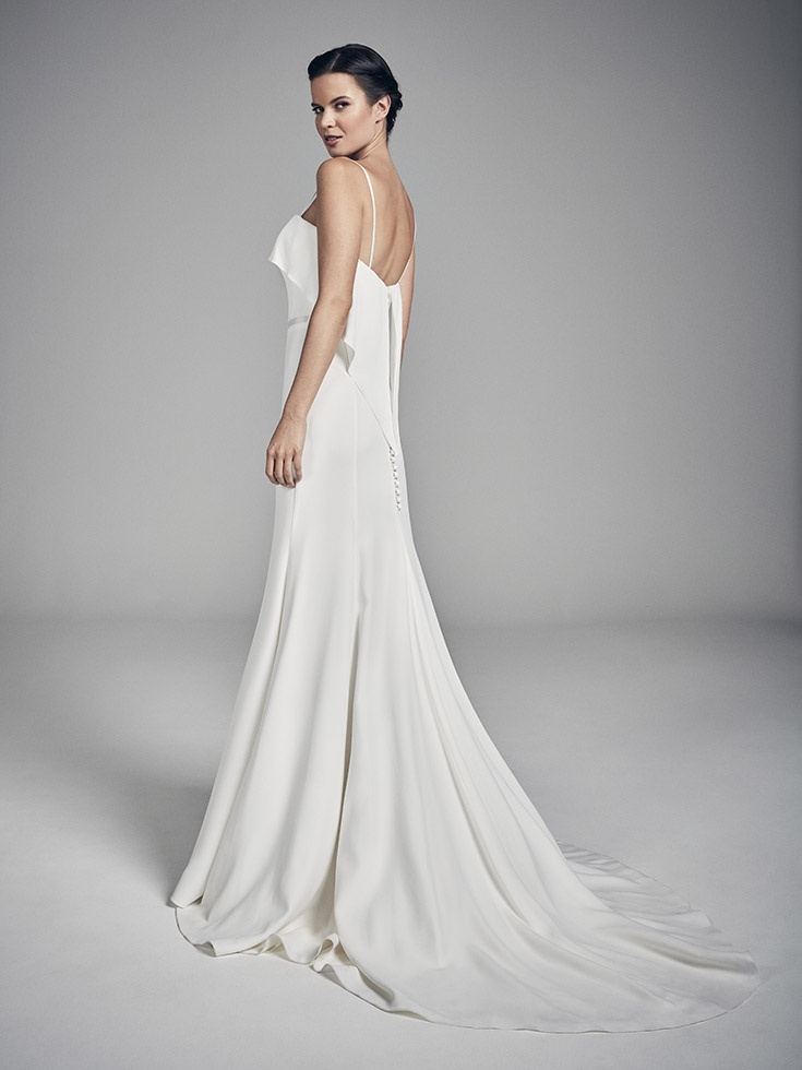 Sky - Flores Collections 2020 | wedding dresses uk | Suzanne Neville