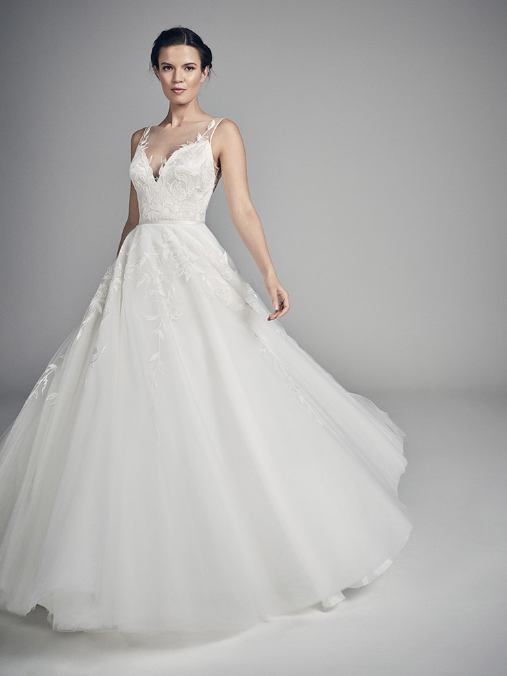 Solstice - Flores Collections 2020 | wedding dresses uk | Suzanne Neville