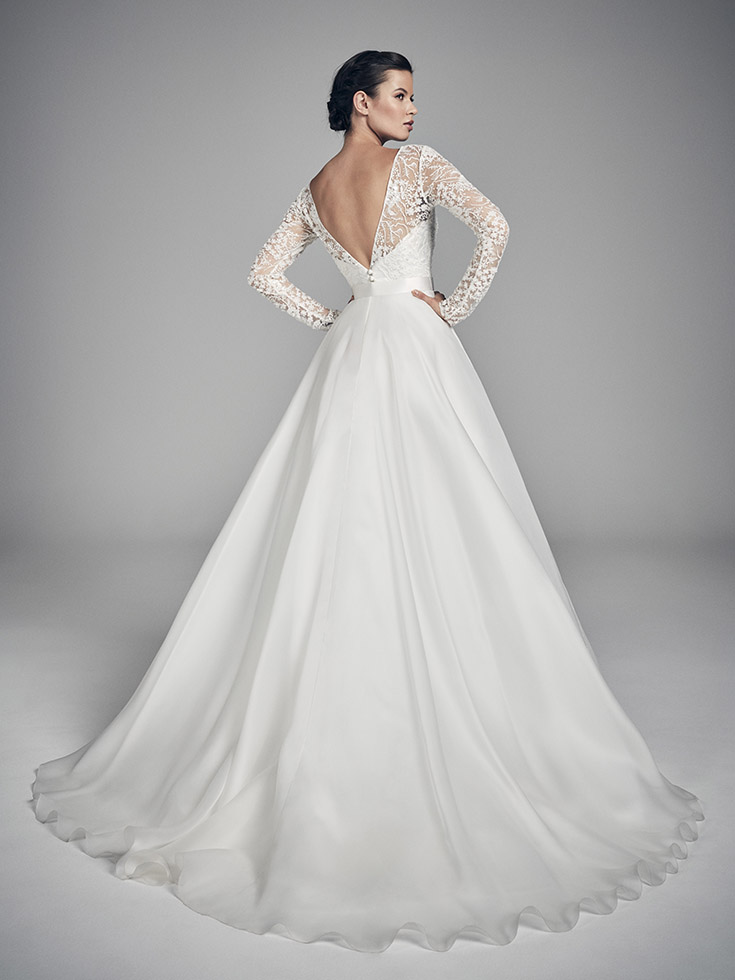 Topaz - Flores Collections 2020 | wedding dresses uk | Suzanne Neville