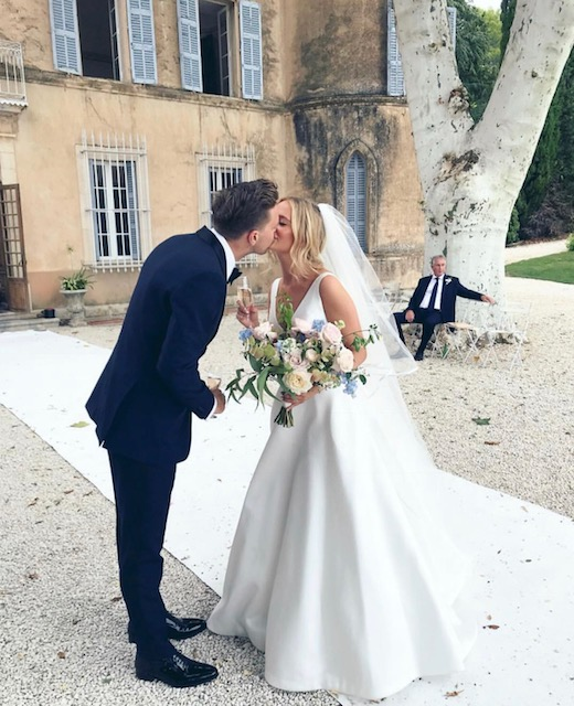 Real Bride: Joely Gabrielle Walker Wearing Lola Wedding Dress