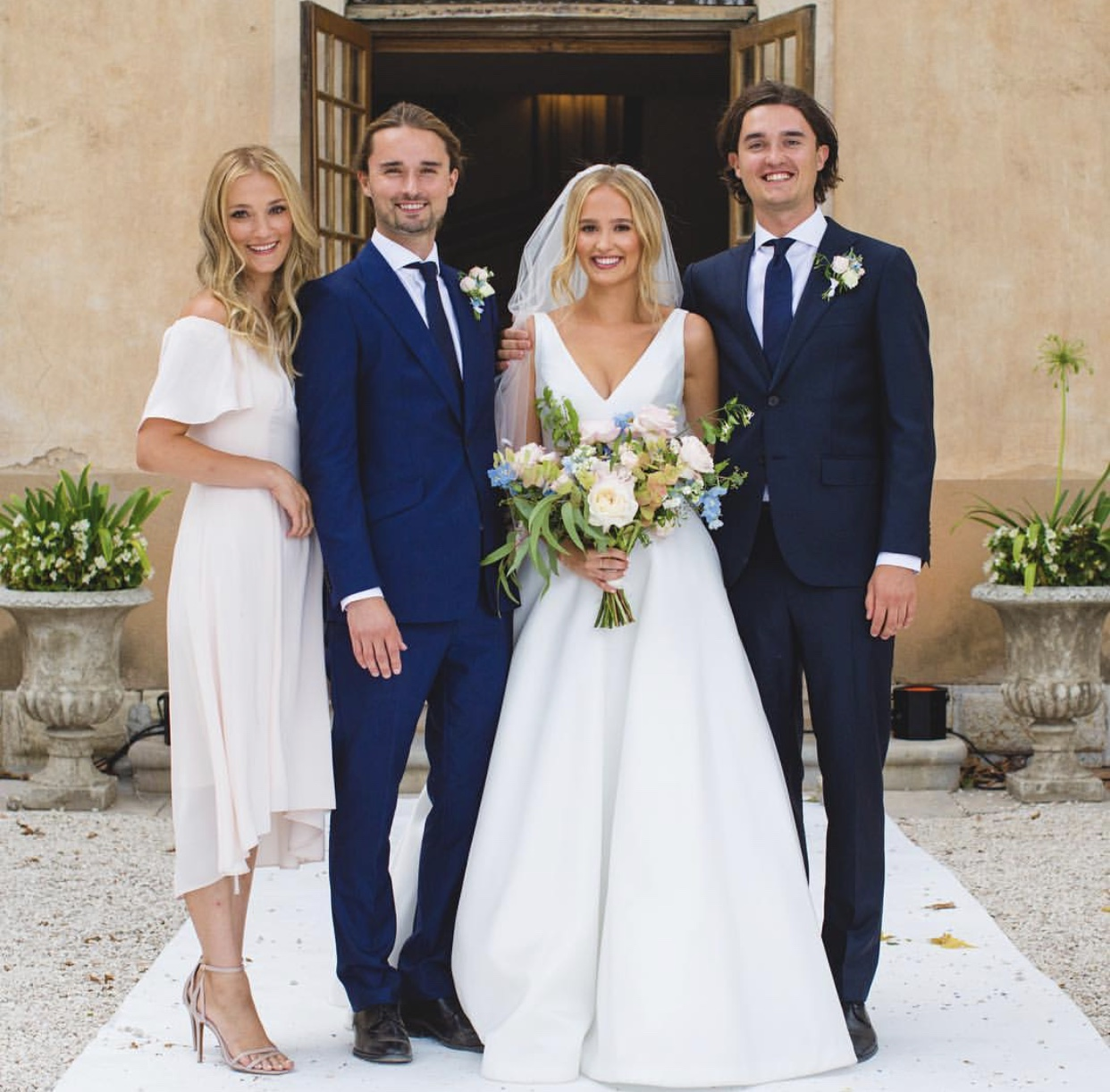 Lola Wedding Dress by bridal designer Suzanne Neville