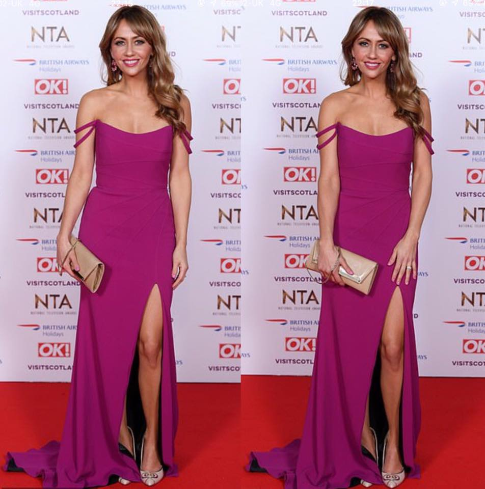 Samia Ghadie wearing Pink Dress at NTAs