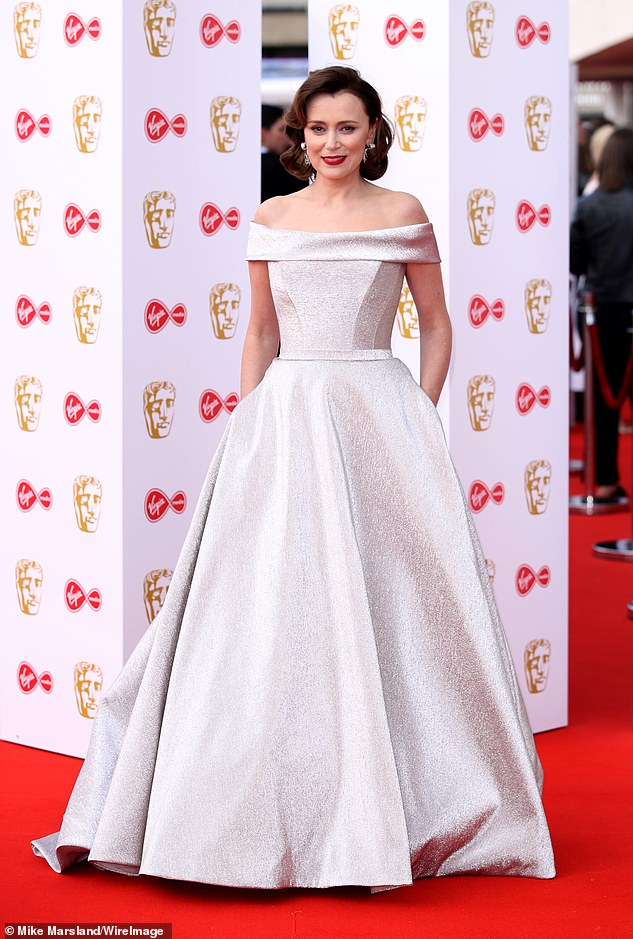 Red Carpet Fashion by Suzanne Neville - Keeley Hawes - BAFTAs 2019