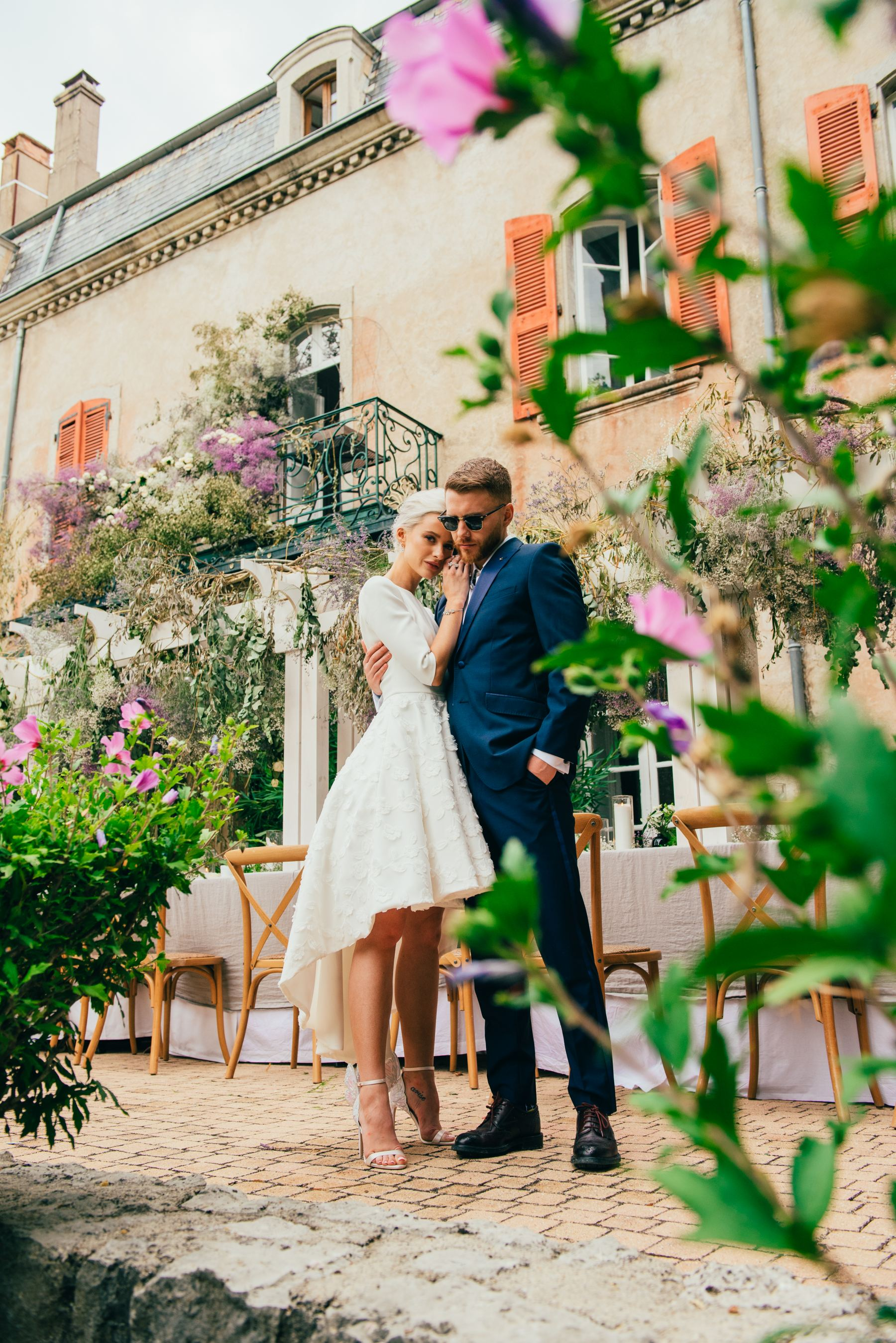 Real Brides - Victoria McGrath stunning wedding in Provence