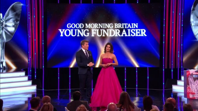 Susanna Reid-dress ITV Pride of Britain Awards2019 fashion designer Suzanne Neville